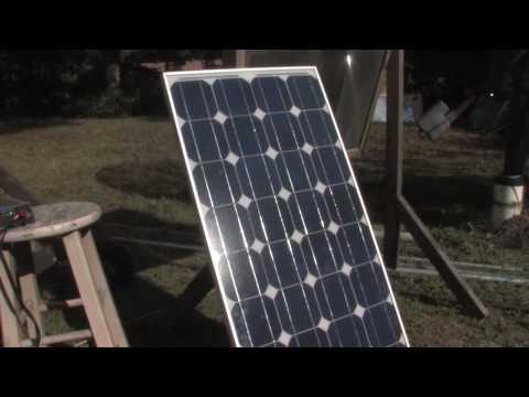 Green Job Training 80 WATT SOLAR PANEL Grid Tie Inverter Direct Monocrystalline