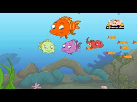 Nursery Rhyme - Three Little Fishies