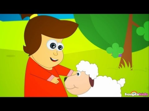 Mary Had A Little Lamb - Nursery Rhymes With Lyrics