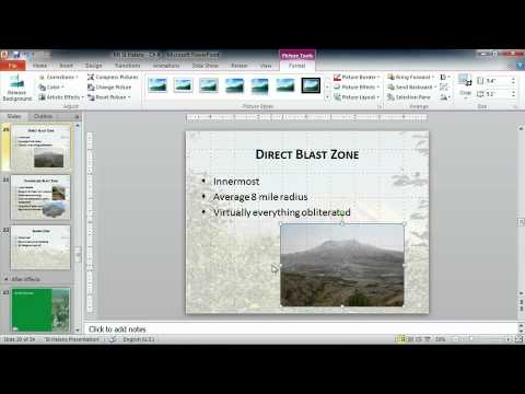 Microsoft Powerpoint 2010  ENHANCING PRESENTATIONS WITH GRAPHICS   Advanced Image Tools
