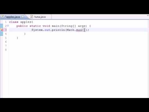 Java Programming Tutorial - 25 - Math Class Methods