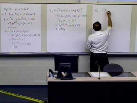 Runge Kutta 4th Order Method: Example: Part 2 of 2