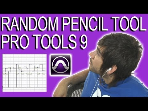 Random Pencil Tool - Pro Tools 9