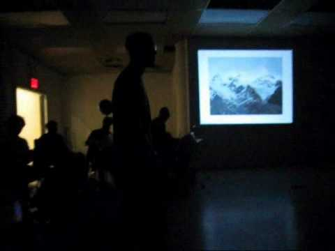 CHRIS MARTIN LECTURE AT HUNTER COLLEGE PART IIII.wmv