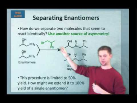 IE Organic Lecture 9.2 - Stereoisomers & Energy, Racemizatio