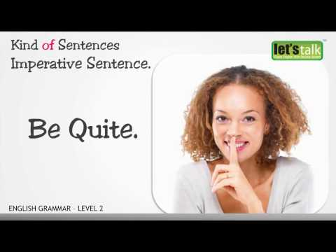 Sentence -  English Grammar level 2.