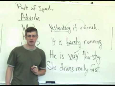 4. The Adverb, and How Adverbs Are Used. English Grammar Lesson