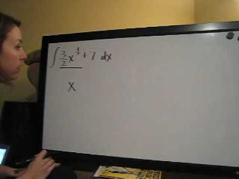 Indefinite Integrals Example 7