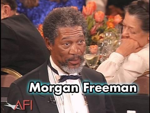 Morgan Freeman Salutes Sidney Poitier at the AFI Life Achievement Award