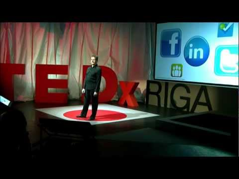 Ending up on the Wrong Side of the Tracks: Valdis Krebs at TEDxRiga