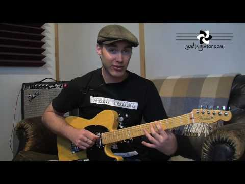 Substitutions for the I VI II V Chord Sequence (Jazz Guitar Lesson JA-030) How to play