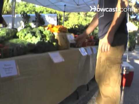 How to Sell at Farmers Markets