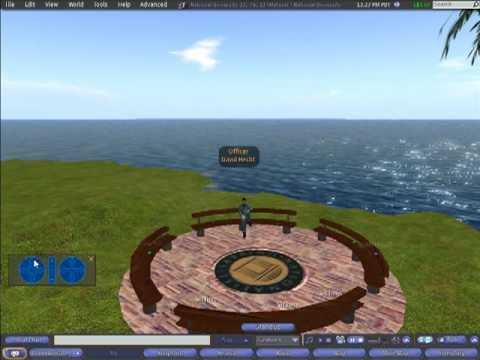 Second Life: Escribir House on National University Island