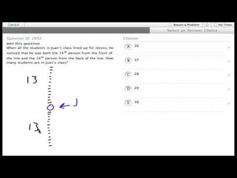 Grockit SAT Math - Multiple Choice: Question 2932