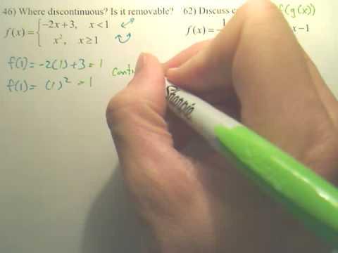 1.4c Continuity Practice - Calculus
