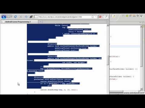 Programación juegos Android. Tutorial 3