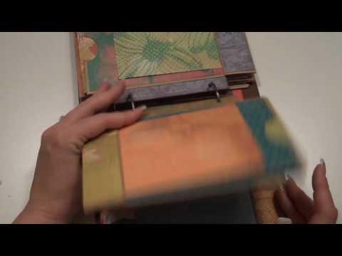 Paper Bag Flip or Vertical Mini Album