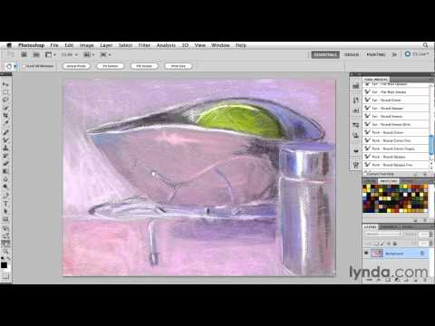 Photoshop overview: Painting a low-resolution source image | lynda.com