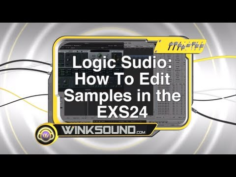 Logic Studio: How To Edit Samples in the EXS24