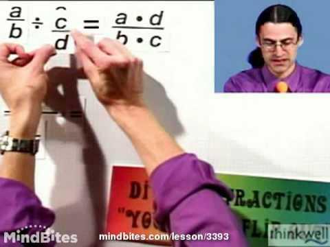 Beg Algebra: Dividing Fractions