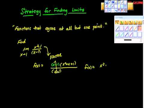 Strategy for Finding Limits That Agree in all but One Point AP Calculus