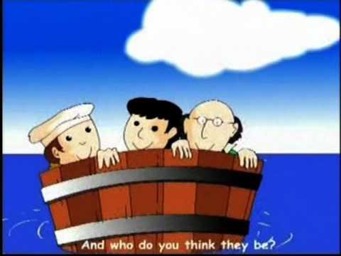 Rub A Dub Dub - Nursery Rhymes - Kids Animation
