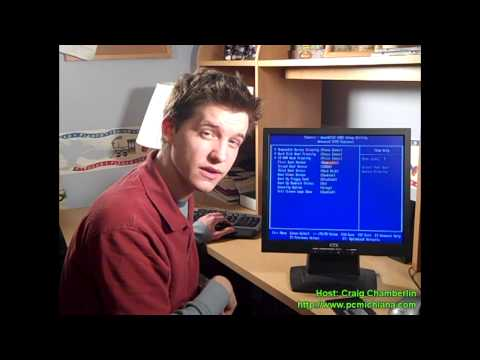 Dual Boot! Ep. 8: Configure BIOS to Boot From Floppy / CD-Rom to Test Boot-US