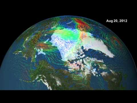 NASA | Arctic Cyclone Breaks Up Sea Ice