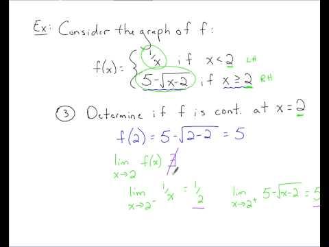 Calculus - Continuity