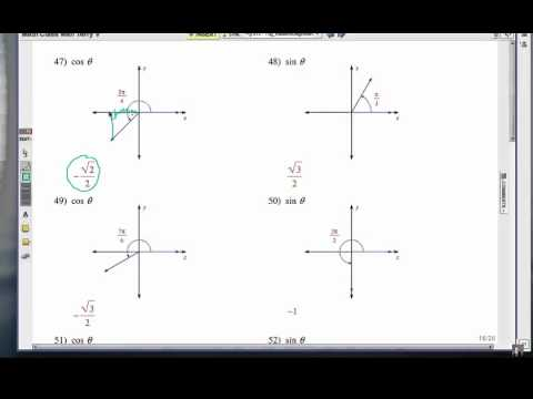 How to Use the Unit Circle: Problem Set 4