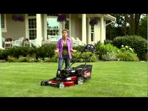 Toro TimeMaster Lawn Mower Quality Cut & Storage