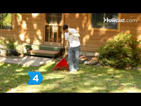 How to Rake Autumn Leaves