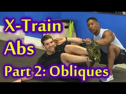 X Train Abs Part 2: Side Ab Workout | Home Beginners Fitness Training, Barron Austin Psychetruth