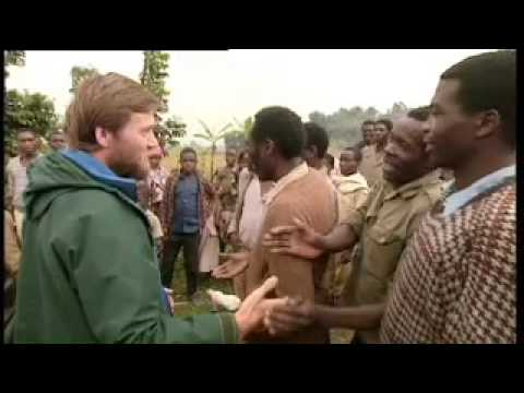 Shocking aftermath of the Rwandan war - Gorillas Revisited with Attenborough - BBC