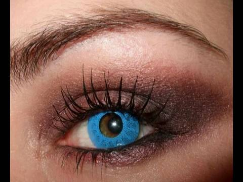 How to Amy Lee Evanescence vampy smokey makeup tutorial