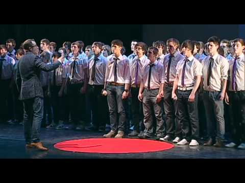 TEDxObserver - Tim Rhys-Evans and Only Boys Aloud - Performance