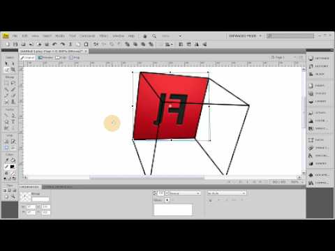 Custom 3D Perspective Boxes in Fireworks CS3 + CS4 Tutorial