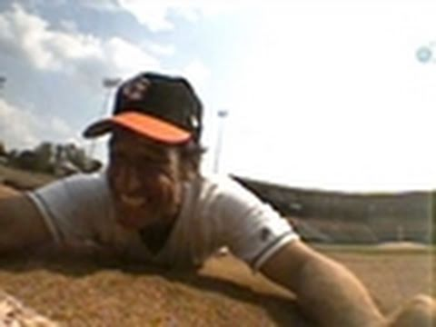 Mike Rowe Steals 2nd Base