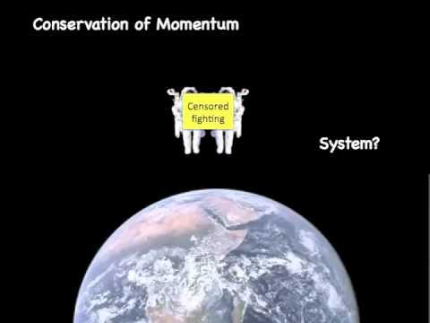 Understanding Conservation of Momentum with Vectors and Algebra