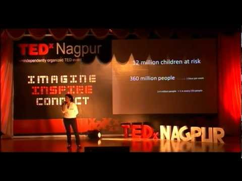 TEDxNagpur - Gloria Benny - Make A Difference (MAD)