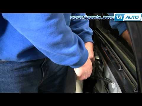 How to Install Replace Rear Door Panel VW Passat 98-01 1AAuto.com