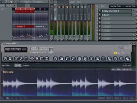 FL Studio - Recording using the Audio Logger