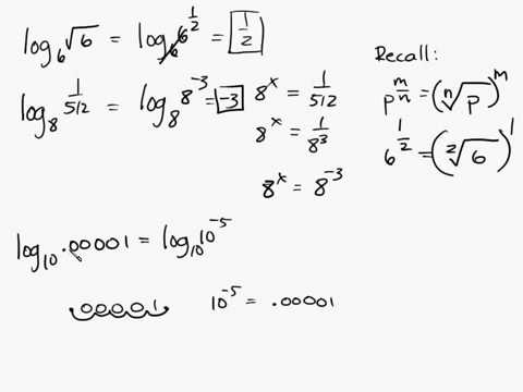 Algebra - Logarithms - Fundamental Property of Logs Intuitive Math Help Log Number