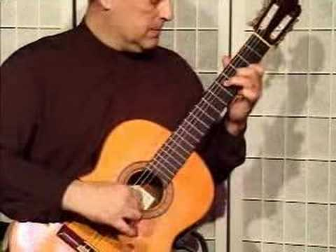 Demonstration: Greensleeves on Classical Guitar
