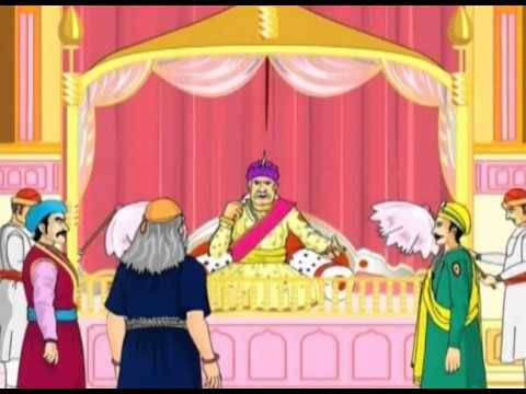 A Trip To Heaven in Akbar And Birbal Vol 01