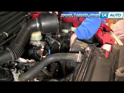 How To Install Replace Engine Air FIlter 99-07 Ford F250 Super Duty 5.4L 1AAuto.com