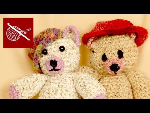 Crochet Geek - Ogeechee Bear Crochet Cap