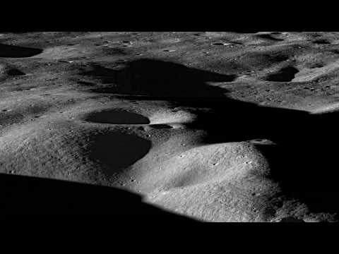 Ten Cool Things Seen in the First Year of LRO (with partial sound)