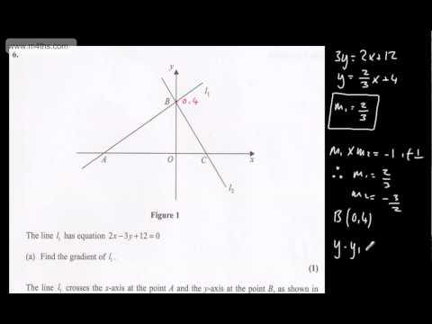 (q6) Core 1 Edexcel January 2012 quick worked answers