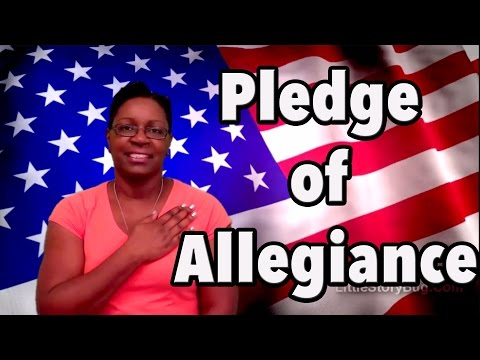 Preschool Pledge of Allegiance - Littlestorybug